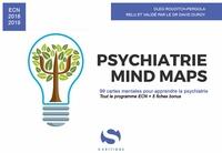 Oleg Rouditch-Pergola et David Duroy - Psychiatrie Mind Maps.