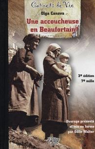Olga Canova - Carnets d'une accoucheuse en Beaufortain.