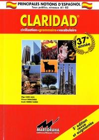 Claridad- Grammaire, civilisation, vocabulaire - Olga Caro Alda | Showmesound.org