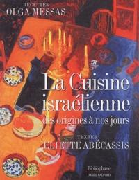 La Cuisine israélienne des origines à nos jours.pdf