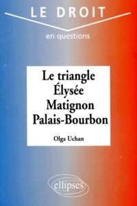 Olga Uchan - Le triangle Élysée, Matignon, Palais-Bourbon.