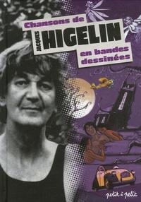 Oliv' - Chansons de Jacques Higelin en bandes dessinées.
