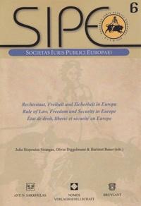 Ucareoutplacement.be Etat de droit, liberté et sécurité en Europe - Edition français - allemand - anglais Image
