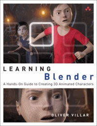 Galabria.be Learning Blender - A Hands-on Guide to Creating 3D Animated Characters Image