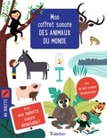 Olivia Cosneau et Sophie Dussaussois - Mon coffret sonore des animaux du monde - Avec une tablette sonore détachable et un livre documentaire.