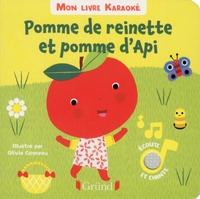 Olivia Cosneau - Pomme de reinette et pomme d'Api.