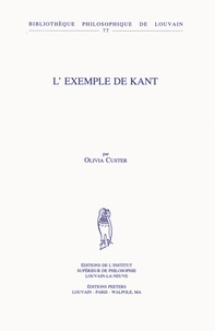 Olivia Custer - L'exemple de Kant.