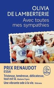 Recherche ebooks téléchargement gratuit Avec toutes mes sympathies in French par Olivia de Lamberterie