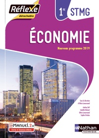 Olivia Lenormand - Economie 1e STMG - Pochette + licence élève.