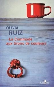 Olivia Ruiz - La commode aux tiroirs de couleurs.