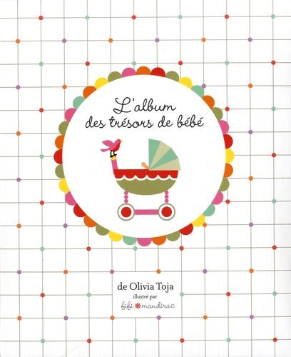 L'album des trésors de bébé. 1 coffret : 1 album de bébé, 5 tiroirs et 1 toise