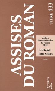 Olivier Adam et Laure Adler - Les assises international du roman 2011.