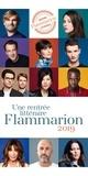 Olivier Adam et Chris Kraus - Rentrée littéraire Flammarion 2019.