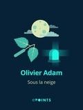 Olivier Adam - Sous la neige.