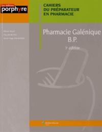 Olivier Allo et Pascale Blanc - Pharmacie galénique BP.