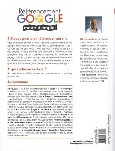 Référencement Google mode d'emploi. Spéciale débutants en SEO 4e édition