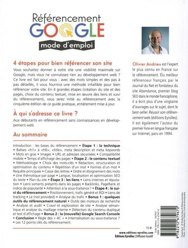 Référencement Google mode d'emploi. Spéciale débutants en SEO 5e édition