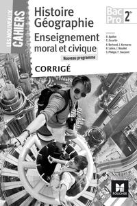 Corridashivernales.be Histoire Géographie Enseignement moral et civique 2de Bac Pro - Corrigé Image