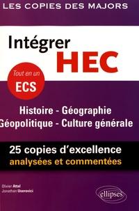 Intégrer HEC - ECS Histoire Géographie Géopolitique Culture générale.pdf