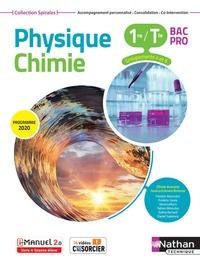 Olivier Aumaire et Jessica Estevez-Brienne - Physique Chimie 1re/Tle Bac Pro Groupements 4 et 6 Spirales.