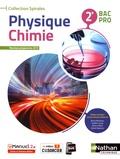 Olivier Aumaire et Jessica Estevez-Brienne - Physique Chimie 2e Bac Pro Spirales.