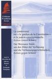 """Olivier Beaud et Pasquale Pasquino - La controverse sur """"le gardien de la Constitution"""" et la justice constitutionnelle - Kelsen contre Schmitt."""