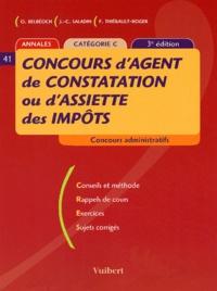 Olivier Belbéoch et Jean-Christophe Saladin - Concours d'agent de constatation ou d'assiette des impôts - Catégorie C.