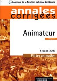 Olivier Bellégo - Animateur - catégorie B session 2006.