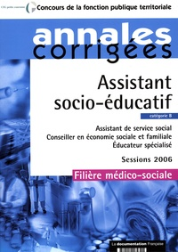Olivier Bellégo - Assistant socio-éducatif, assistant de service social, conseiller en économie sociale et familiale, éducateur spécialisé: catégorie B, filière médico-sociale, sessions 2006.