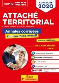 Olivier Bellégo - Attaché territorial externe, interne, 3e voie catégorie A - Annales corrigée Entraînement intensif.