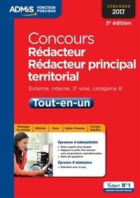 Olivier Bellégo et  Bellego - Concours Rédacteur et Rédacteur principal territorial - Catégorie B - Tout-en-un - Externe, interne, 3e voie, Concours 2017.