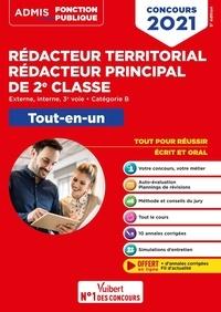 Olivier Bellégo - Concours Rédacteur territorial et Rédacteur principal de 2e classe - Externe, interne, 3e voie, catégorie B. Tout-en-un.