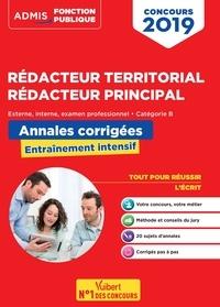 Olivier Bellégo - Concours Rédacteur territorial, Rédacteur principal externe, interne, examen professionnel, catégorie B - Annales corrigées, entraînement intensif.