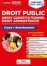 Olivier Bellégo et Frédéric Ingelaere - Droit public, droit constitutionnel, droit administratif - Cours et entraînement catégories A et B.