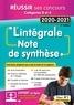 Olivier Bellégo - L'Intégrale de la Note de synthèse - Catégories B et A - Concours 2020-2021.