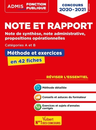 Exemple Note Administrative Avec Propositions