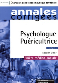 Olivier Bellégo - Psychologue - Puéricultrice - Session 2007 catégorie A.