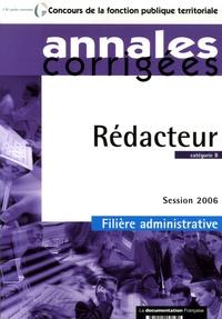 Olivier Bellégo - Rédacteur - Annales corrigées, catégorie B, Filière administrative.