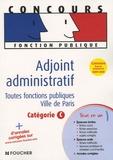 Olivier Berthou et Odile Girault - Adjoint administratif - Toutes fonctions publiques Ville de Paris Catégorie C.