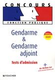 Olivier Berthou et Michèle Eckenschwiller - Gendarme et gendarme adjoint.