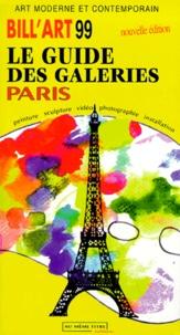 Checkpointfrance.fr BILL'ART 1999 LE GUIDE DES GALERIES, PARIS Image