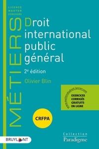 Droit international public général - Olivier Blin pdf epub