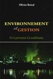 Olivier Boiral - Environnement et gestion - De la prévention à la mobilisation.