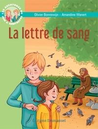 Olivier Bonnewijn et Amandine Wanert - Les aventures de Jojo et Gaufrette Tome 13 : La lettre de sang.