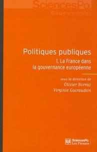 Deedr.fr Politiques publiques - Tome 1, La France dans la gouvernance européenne Image