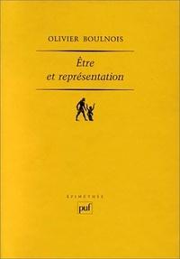 Olivier Boulnois - Etre et représentation - Une généalogie de la métaphysique moderne à l'époque de Duns Scot (XIIIe - XIVe siècle).