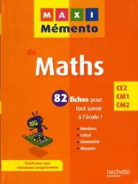 Olivier Boutin - Maths - CE2-CM1-CM2.