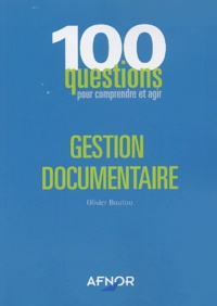 Olivier Boutou - Gestion documentaire.