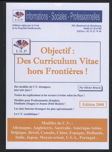 Olivier Briard - Objectif : des curriculum vitae hors frontières !.