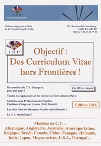 Olivier Briard - Objectif : des curriculum vitae hors frontières !.